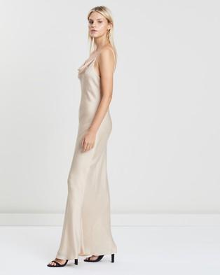 Shona Joy - Luxe Bias Cowl Slip Dress - Bridesmaid Dresses (Champagne) Luxe Bias Cowl Slip Dress
