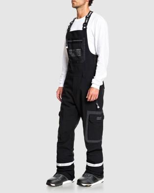 DC Shoes Mens Revival Shell Snow Bib Pant - Pants (Black)
