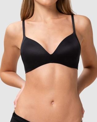 Triumph Body Make Up Soft Touch Wirefree Bra - Soft Cup Bras (Black)