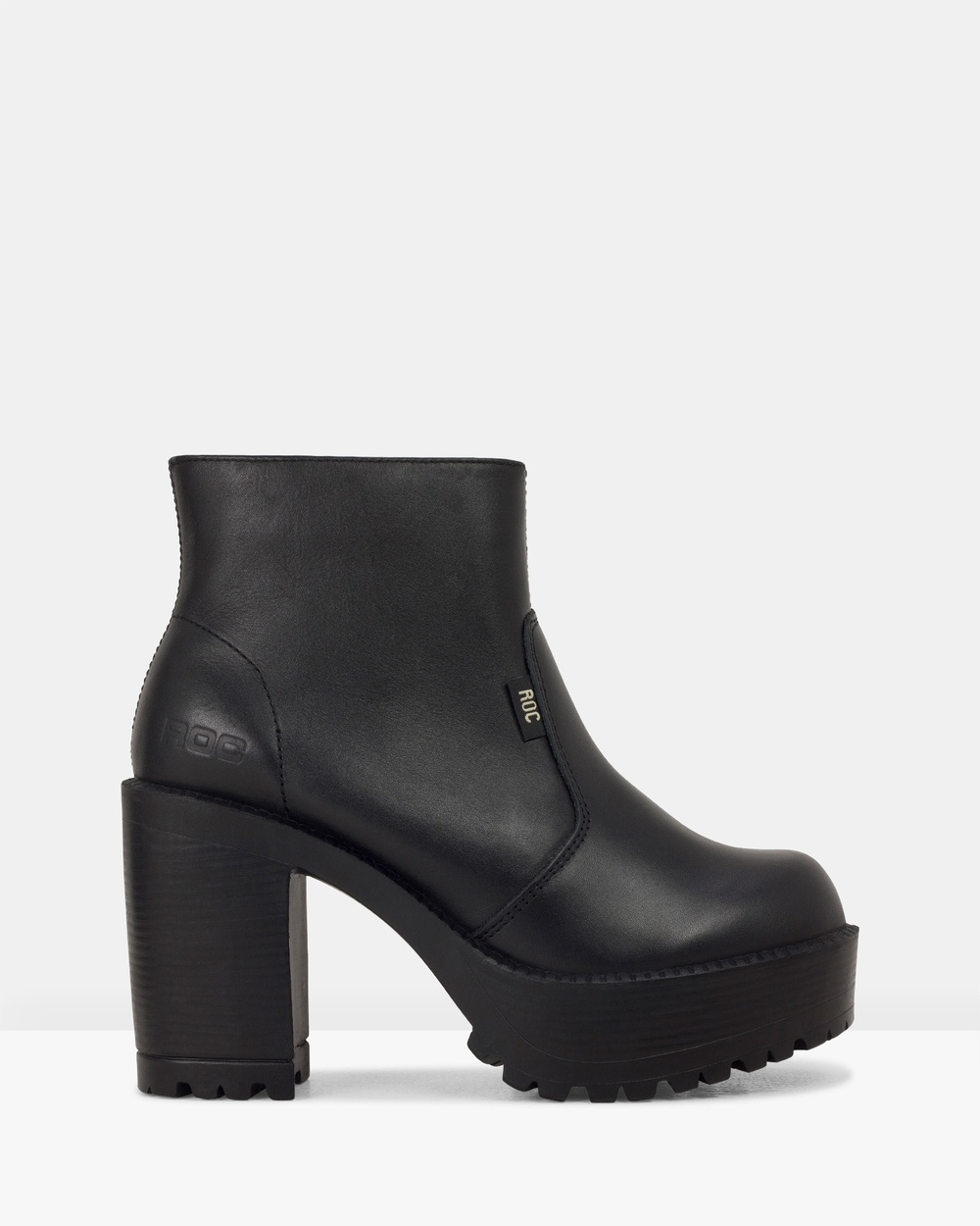 ROC Boots Australia Gosh Heels Black Gosh