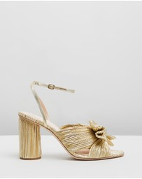 Loeffler Randall - Camellia Knot Mules with Ankle Strap