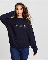 Assembly Label - Accent Fleece Sweatshirt