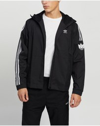 adidas Originals - Adicolor 3D Trefoil Windbreaker Jacket - Men's
