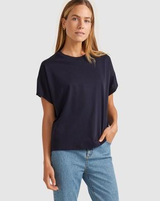 Sportscraft - Marli Relaxed Tee - T-Shirts & Singlets (Navy) Marli Relaxed Tee