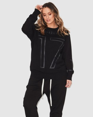17 Sundays 17 Sweat - Jumpers & Cardigans (Black)