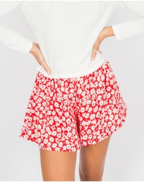 Toby Heart Ginger - In Bloom Shorts