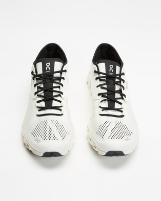 On Running Cloud X   Men's - Performance Shoes (White & Black)