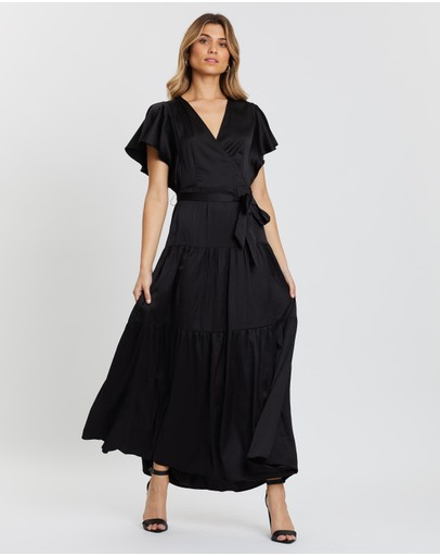 Atmos&Here - Lisa Satin Midi Dress