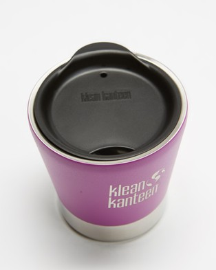 Klean Kanteen 8oz Insulated Tumbler with Tumbler Lid - Running (Berry Bright)