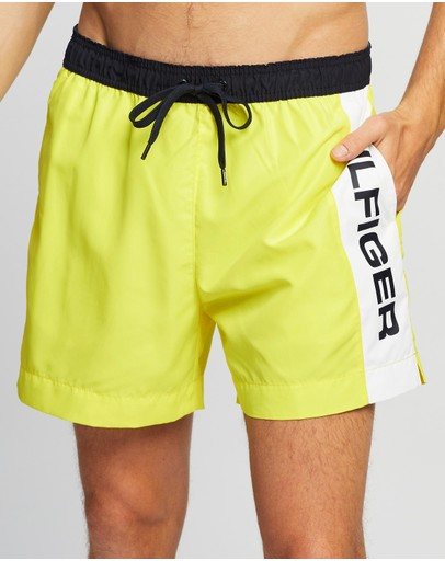 Tommy Hilfiger - Logo Medium Drawstring Swim Shorts