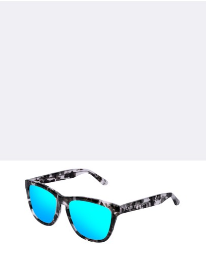 Hawkers Co Grey Tortoise Clear Blue One X &