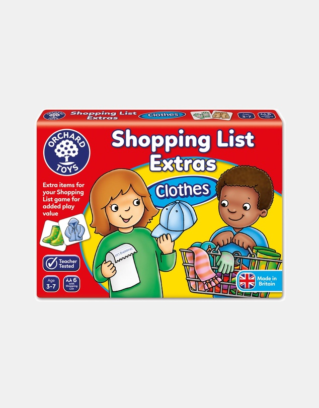Kids Shopping List Booster Pack Clothes