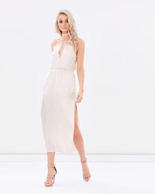 Staple the Label – Twilight Dress – Dresses (Champagne)