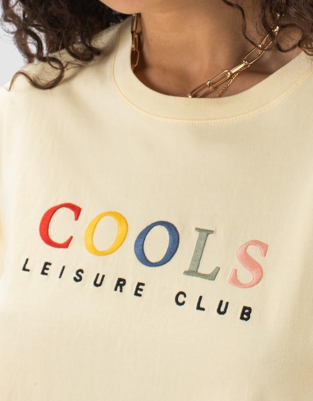 Women Leisure Club Boxy Tee