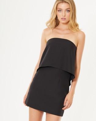 Tussah – Odessa Bandeau Dress – Dresses (Black)