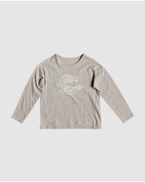 Girls 2-7 Shape And Shadow B Long Sleeved T Shirt