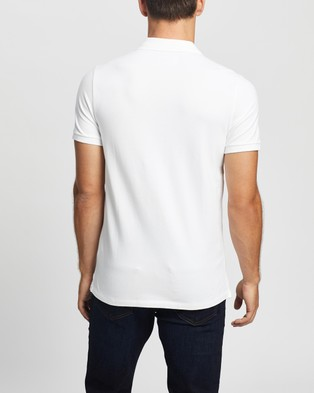 Abercrombie & Fitch SS Core Polo - Casual shirts (White)