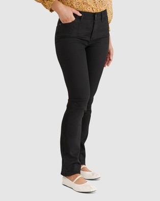 Sportscraft Simone Straight Jeans - Jeans (black)