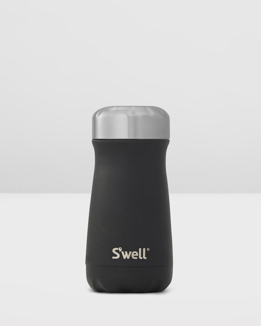S'well Traveller Stone Collection 350ml Onyx Water Bottles Black