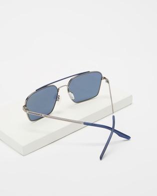 Converse - Activate Sunglasses (Satin Gunmetal & Navy)