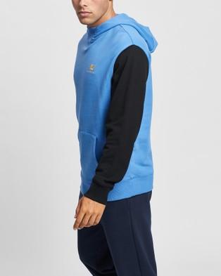 New Balance NB Athletics Village Fleece Pullover - Hoodies (Faded Cobalt)