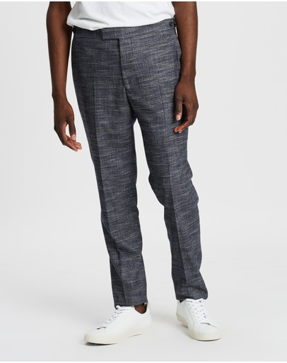 REISS - Check Slim Trousers