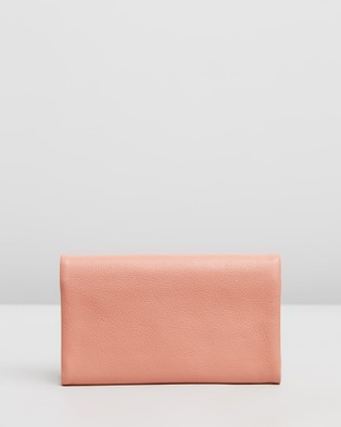 Stitch & Hide Paiget Wallet - Wallets (Coral)