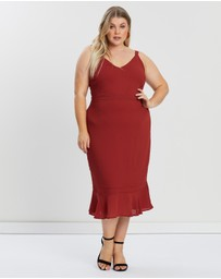 Atmos&Here Curvy - Tara V-Neck Dress