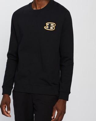 Ben Sherman Cornelli Logo Sweat - Sweats (Black)