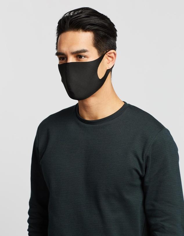 Men Contoured Non-Medical Face Mask 4-Pack