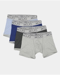 Mojo - Varsity Trunk 4 Pack Multi