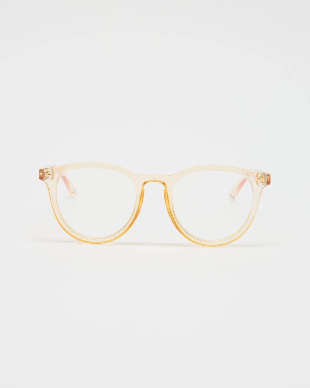 Le Specs Fire Starter Blue Light Optical Blonde