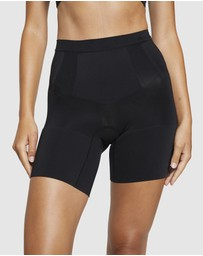 Spanx - Oncore High-Waisted Mid-Thigh Shorts