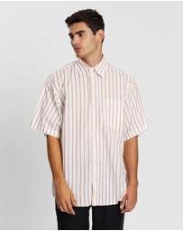Schnayderman's - Short Sleeve Oversized Stripe Shirt