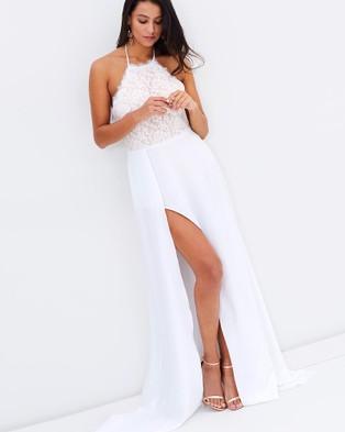 ROXCIIS – Sophie Dress Optical White