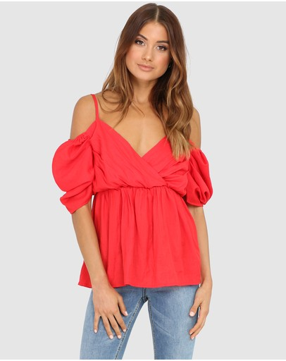 d052429bd9d Off Shoulder Tops | Off The Shoulder Tops Online | Buy Womens Off Shoulder  Top Australia |- THE ICONIC