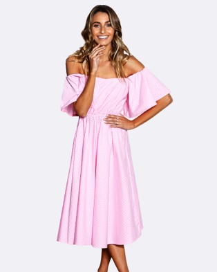 Stylekeepers – Daisy Chains Dress PINK