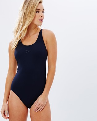Speedo – Endurance Leaderback One Piece – One-Piece Swimsuit Deep Navy