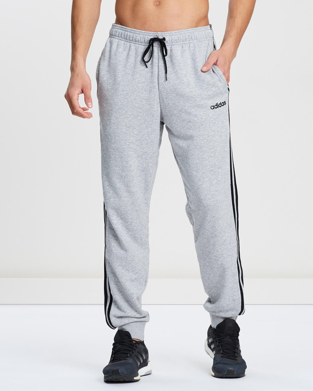 a8fed3b4e17c8 Essentials 3-Stripes Tapered Cuffed Pants by adidas Performance Online |  THE ICONIC | Australia