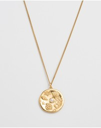 Kirstin Ash - By The Sea Coin Necklace