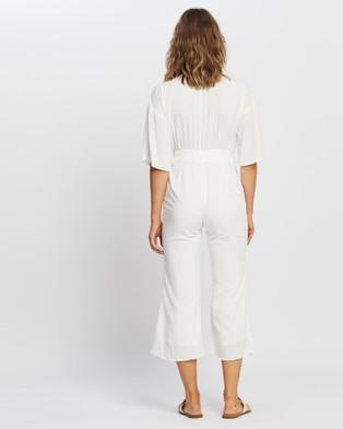 LENNI the label Priestess Jumpsuit - Jumpsuits & Playsuits (White Lurex)