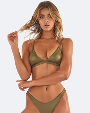 L'urv – Untamed Bikini Top – Bikini Tops (Green)