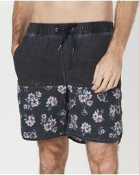 Coast Clothing - Vintage Capsize Floral Board Shorts