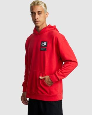 RVCA Everlast Sport Hoodie - Jumpers & Cardigans (RED)