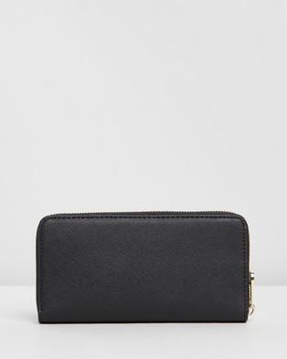 Tommy Hilfiger Honey Large Zip Around Wallet - Wallets (Black)