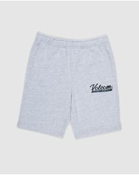 Volcom - Youth Eastmont Fleece Shorts