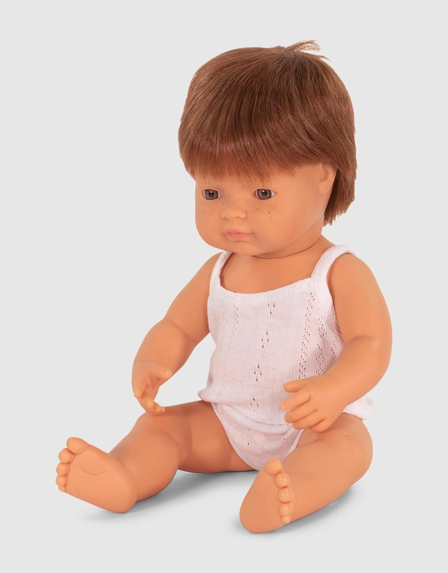 Kids Caucasian Boy Doll, 38cm