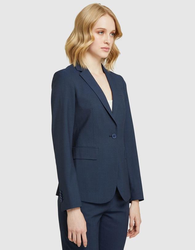 Women Alexa Wool Stretch Suit Jacket