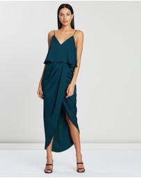 Shona Joy - Cocktail Frill Dress