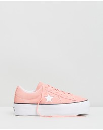 Converse - One Star Platform Sneakers - Women's
